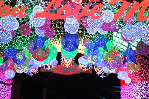 Light Festival at The Ansan Starlight Village Photo Land (안산 별빛마을 포토랜드 빛축제)