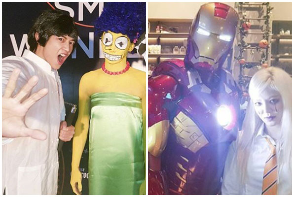 SM Entertainment's Halloween party costumes revealed!   NZ ...