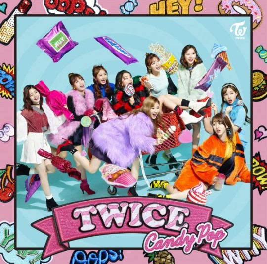 TWICE tops Oricon Daily Chart in Japan with 'Candy Pop' | NZ