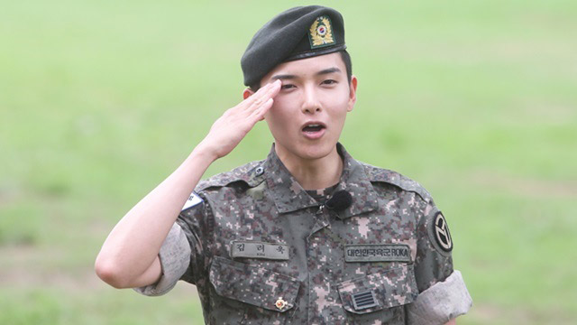 Super Junior\'s Ryeowook was discharged from military service.