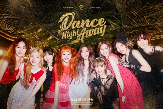 TWICE released its special 2nd mini-album \\\'Summer Nights\\\' on July 9. It\\\'s title track, \\\'Dance The Night Away\\\', has been topping the charts for 3 straight days!