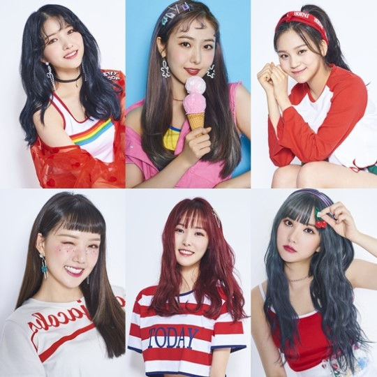 GFRIEND will be releasing their summer mini-album \\\'Sunny Summer\\\' on July 19 at 6 p.m