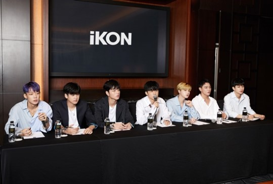 On August 2, iKON held an interview to talk about their new mini-album \'NEW KINDS : CONTINUE\'.