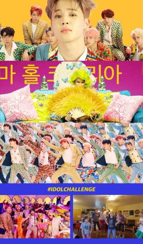 On September 7, the music video of 'IDOL (Feat. Nicki Minaj)' was revealed on YouTube. 'IDOL (Feat. Nicki Minaj)' is a special digital track that was not included in BTS' recent album.
