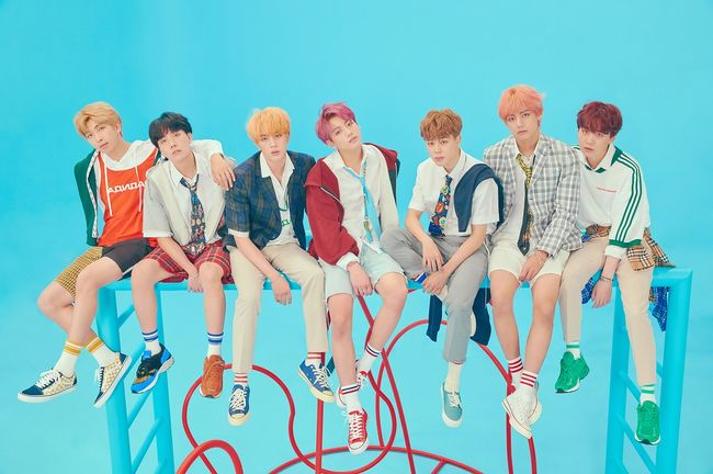 BTS's Korean album has swept Korean, American and Japanese music charts.