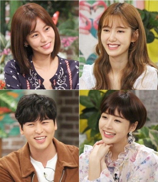 Tonight's episode of 'Happy Together' will star the cast of new KBS weekend drama 'My Only One', U-IE, Lee Jangu, Na Hyemi and Yoon Ji Ni.